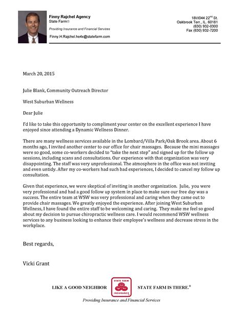 Sle Letter Of Recommendation For Chiropractic College Community Stories West Suburban Wellness