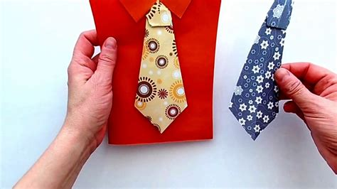 How To Make A Tie Out Of Paper - how to make a tie out of paper beautiful origami tie for