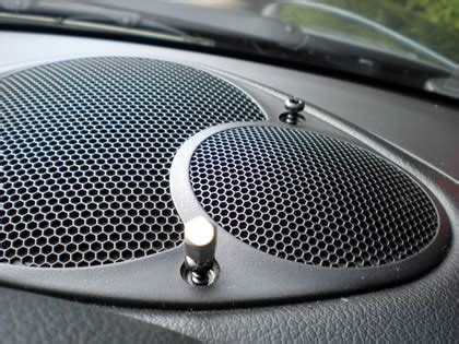 speaker grill filters sound  protects device