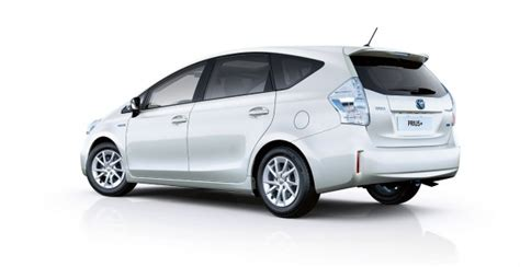 Toyota Prius Plus 7 Seater Review Hybrid Cars That Seat 7 Autos Post
