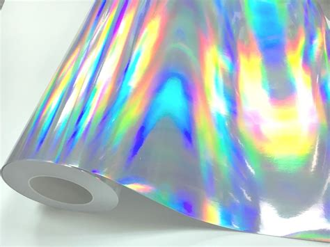 ebay vinyl 12 quot x 4 ft silver holographic craft hobby cutting