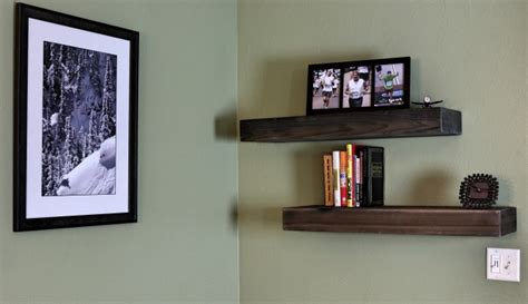 floating wood shelves 20 diy floating shelves you can build quickly and easily