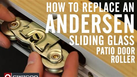 How To Replace An Andersen Roller In A Sliding Glass Patio How To Replace Patio Door Rollers