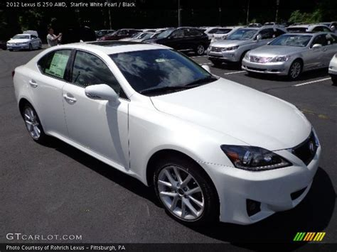 white lexus is 250 2012 2012 lexus is 250 awd in starfire white pearl photo no