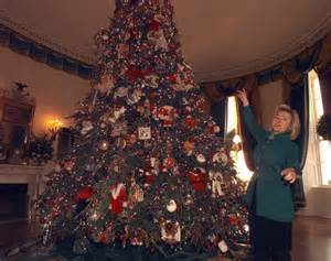 first lady hillary clinton 1997 photos christmas at