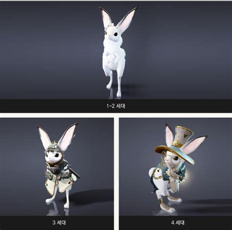 Korean Hat Single Bunny new rabbit pet in korea blackdesertonline