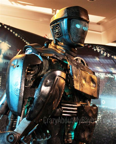 film robot atom atom from real steel and john rosengrant from legacy effects