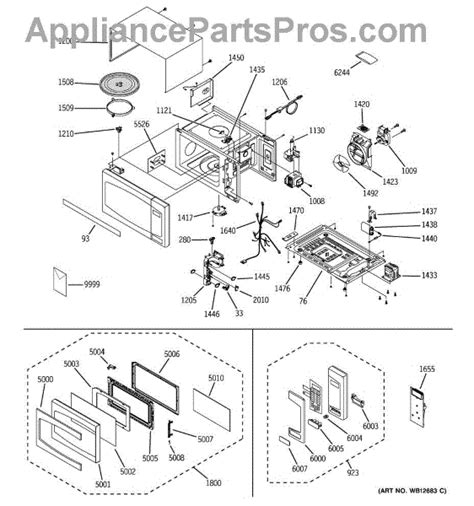 ge microwave diode location ge wb27x10687 diode hv asm appliancepartspros