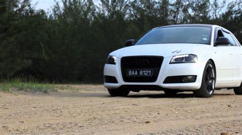 Audi A3 Sportback Fußmatten by Matte White Audi A3