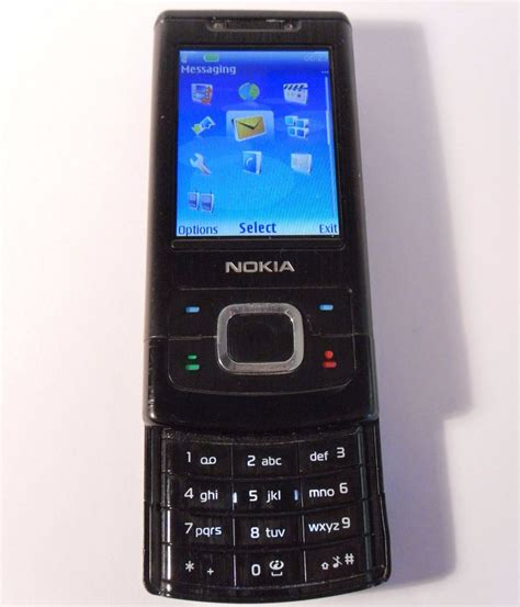 slide mobili nokia slide 6500 black unlocked mobile phone 6500s
