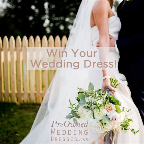 Win Wedding Money 2016 - have you entered to win your wedding dress yet preowned