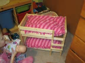 american doll bunk bed atwood family of five american doll bunk beds