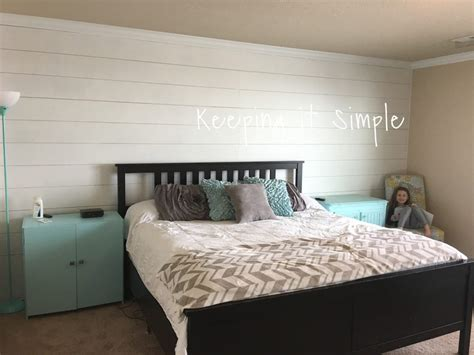 pictures in bedroom how to build a shiplap in a master bedroom for 100