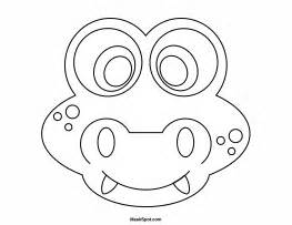 printable alligator mask