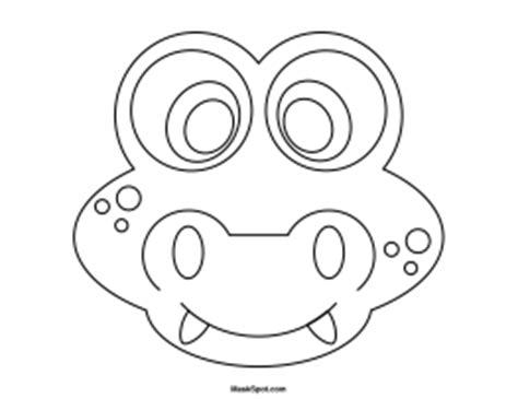 crocodile mask template printable alligator mask