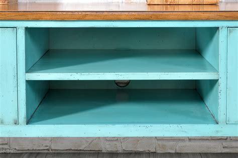credenza verde acqua lussuoso porta tv in legno di ciliegio laccato bicolore