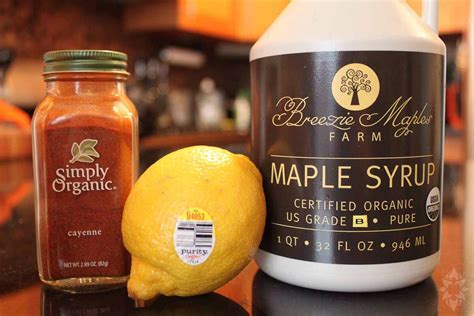 Lemon Juice Maple Syrup And Cayenne Pepper Detox Recipe by The Master Cleanse Recipe Trusper