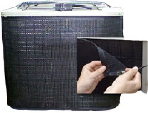 outside air conditioner unit filter filters air cleaners air conditioner condenser filter