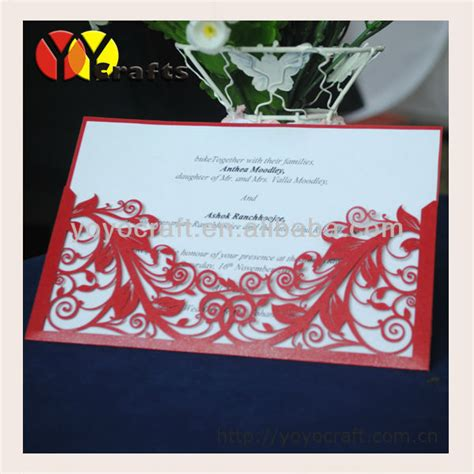 2013 sale wedding favor laser cut baby souvenir handmade wedding invitation card for usa in