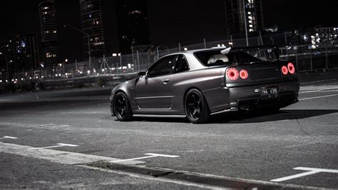 nissan skyline r34 wallpaper r34 gtr wallpapers wallpaper cave