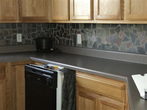 Slate Tile Kitchen Backsplash Information About Rate My Space Questions For Hgtv Hgtv