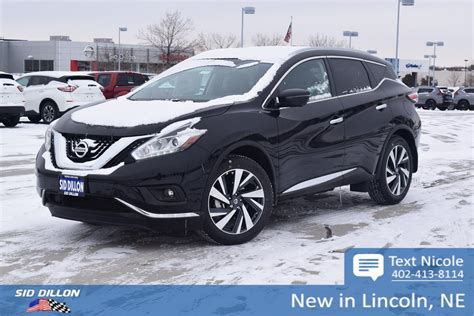 2018 nissan murano platinum 2018 nissan murano platinum suv in lincoln 4n18173
