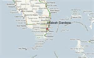 map of hialeah florida gu 237 a urbano de hialeah gardens