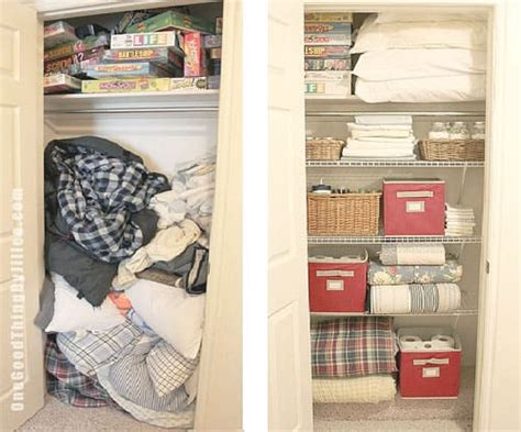 closet makeovers hall closet makeover in six easy steps one good thing