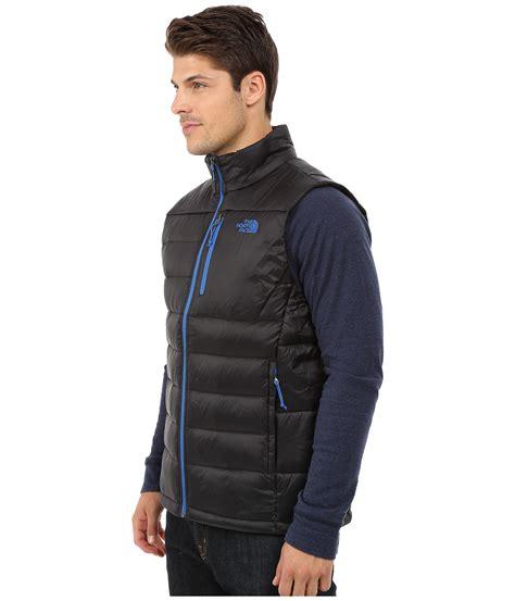 aconcagua dot pattern down vest mens north face down jacket with fur hood vest northface