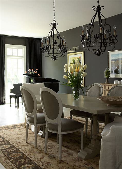 black chandelier dining room dramatic lighting black chandeliers that dazzle and wow