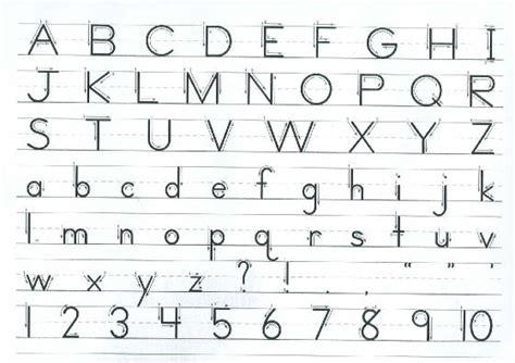 letter formation chart writer s workshop