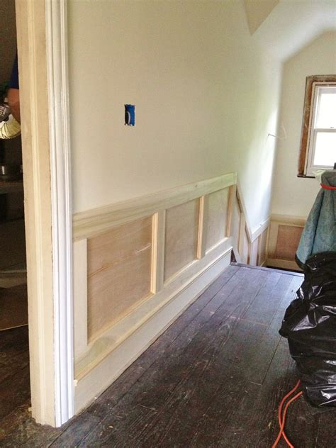 How To Put Up Wainscoting Panels by High Market 3rd Floor Diy Wainscoting And Trim