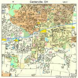 Centerville Ohio Map by Centerville Ohio Street Map 3913190