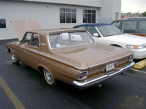 Thompson Plymouth Chrysler 1963 Plymouth Belvedere Annual Fall Car Truck