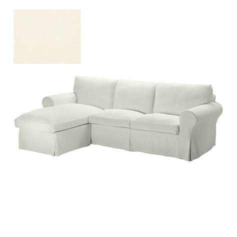 Ektorp Sectional Sofa Ikea Ektorp Loveseat Sofa W Chaise Slipcover 3 Seat Sectional Cover Stenasa White Sten 229 Sa Linen