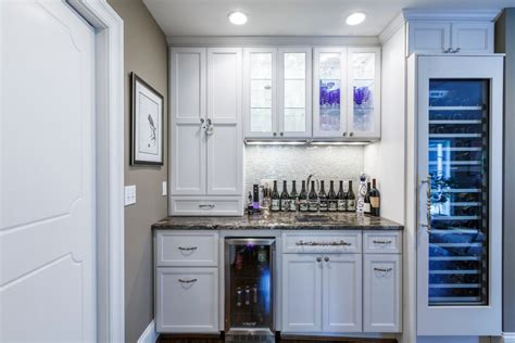 modern bar cabinet with fridge chicago wet bar cabinets home transitional with