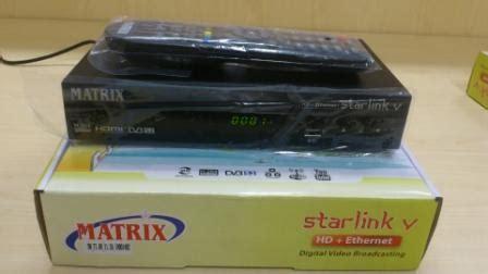 Receiver Matrix Starlink V Ethernet matrix starlink hd ethernet