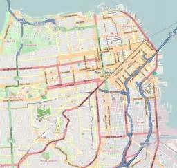 San Francisco On Map by Lower Haight San Francisco Wikipedia