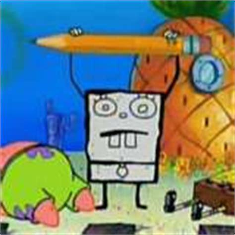 spongebob doodle lifestyle vine doodlebob villains wiki villains bad guys comic
