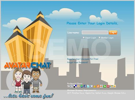 avatar chat rooms pro chat rooms avatar chat v3 0 nulled 187 free nulled php scripts