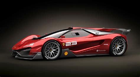 Ferrari Xezri Concept by Ferrari Xezri Competizione Design Concept