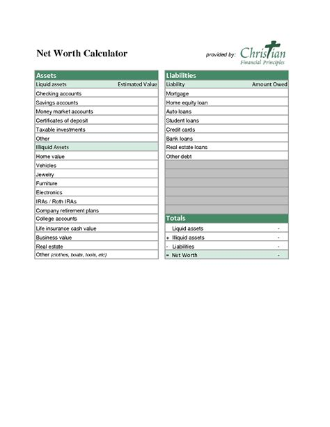 assets and liabilities worksheet virallyapp printables