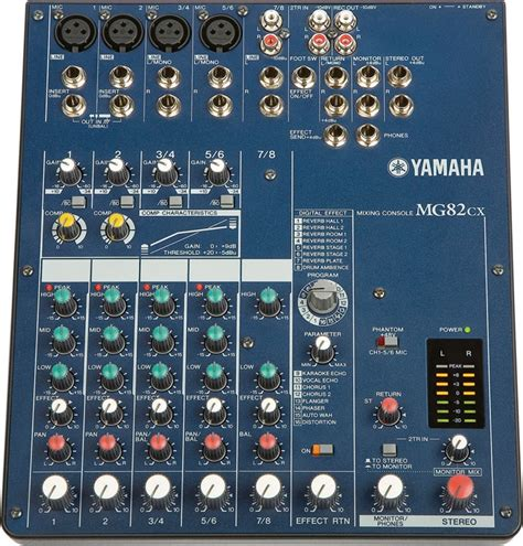 Terbaru Mixer Yamaha Mg82cx yamaha mg82cx sweetwater
