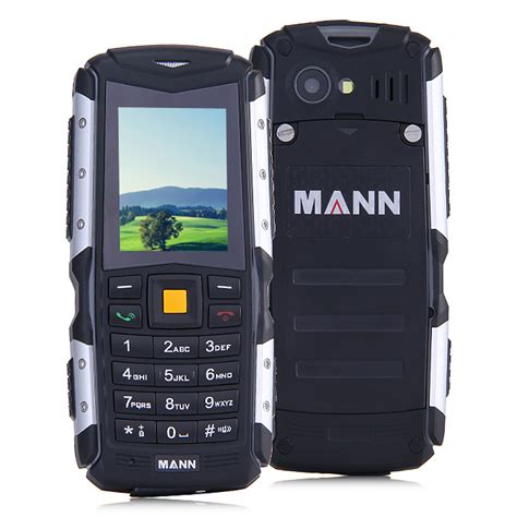 Mann Zug S Ip67 mann zug s ip67 waterproof rugged phone dual sim cards gsm