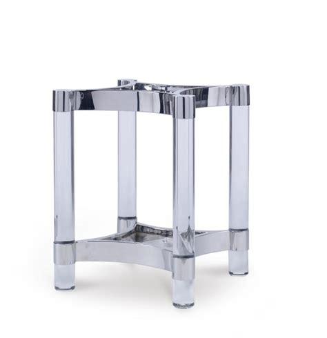 acrylic dining table base cra 829b acrylic metal dining table base