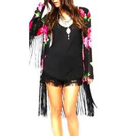 Atasan Wanita Blouse Kimono Palm Best Seller pretty pretty white kimono with black