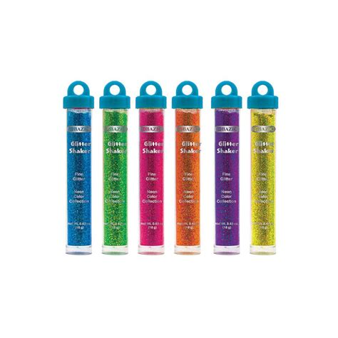 Glitter Glue Bazic Lem Glitter 144 units of bazic 22g 0 77 oz neon color glitter shaker w pdq at alltimetrading