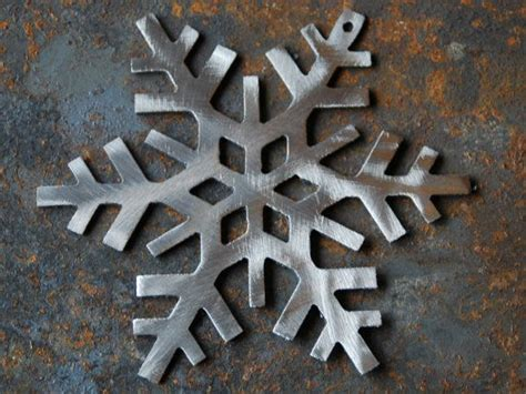 Metal Art Decor Metal Snowflake Decor