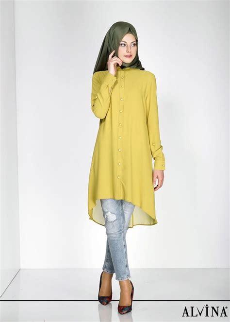 Mode Baju Muslim Trendy percantik tilan kuliah dengan model baju atasan muslim terbaru ini tips dan tutorial