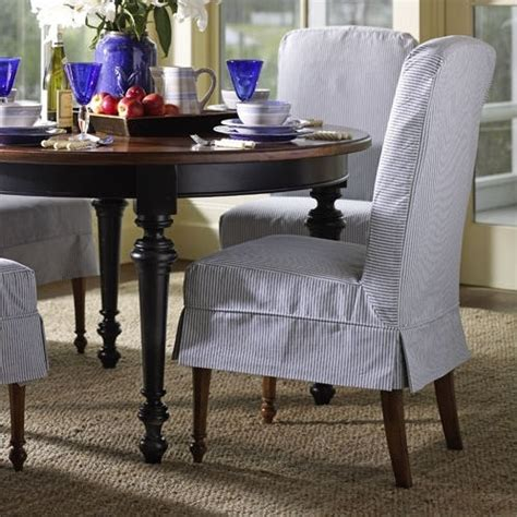 slipcovered dining room chairs slipcovered dining room chairs fotele pinterest